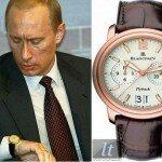Часы Путина стоимостью 22 миллиона рублей
