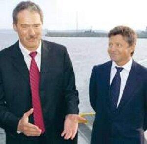 Андрей Малов (слева) и Евгений Катков