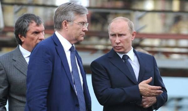 Путин, Сечин и Богданов