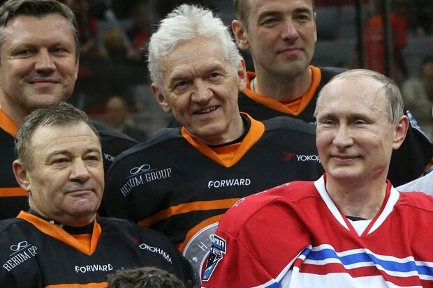 Путин, Тимченко и Ротенберг