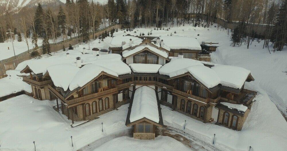 Горная резиденция Медведева «Псехако» в Сочи: